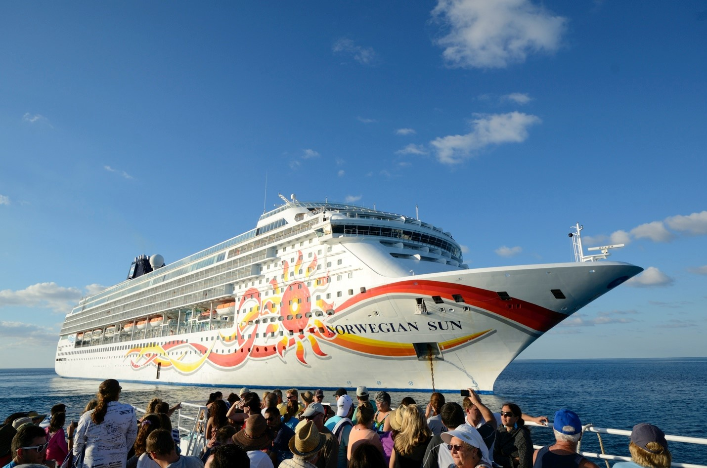 New Norwegian Cruise Ship Sets Social Media Record