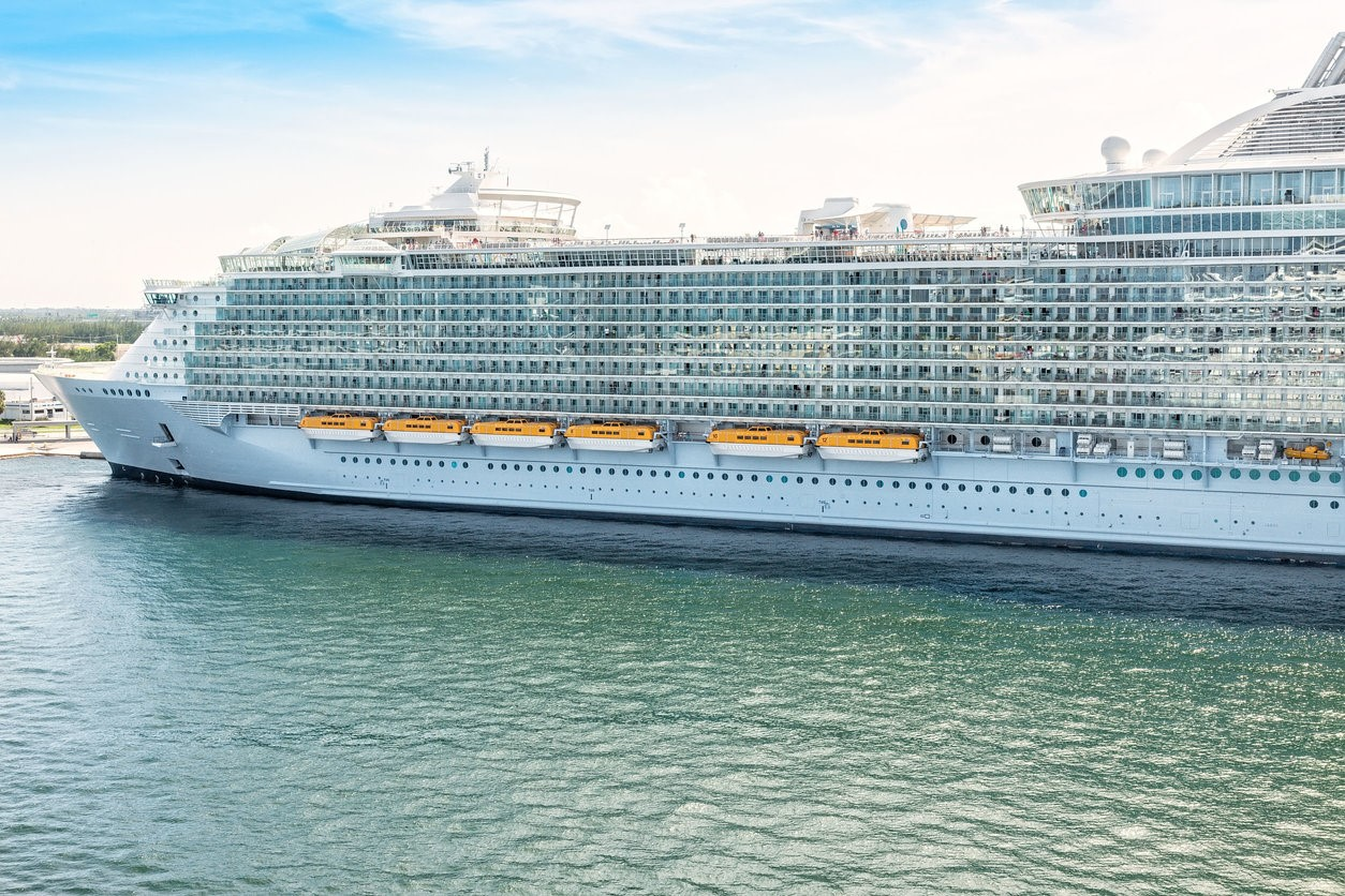 Largest Cruise Ship Sets Sail on Maiden Voyage
